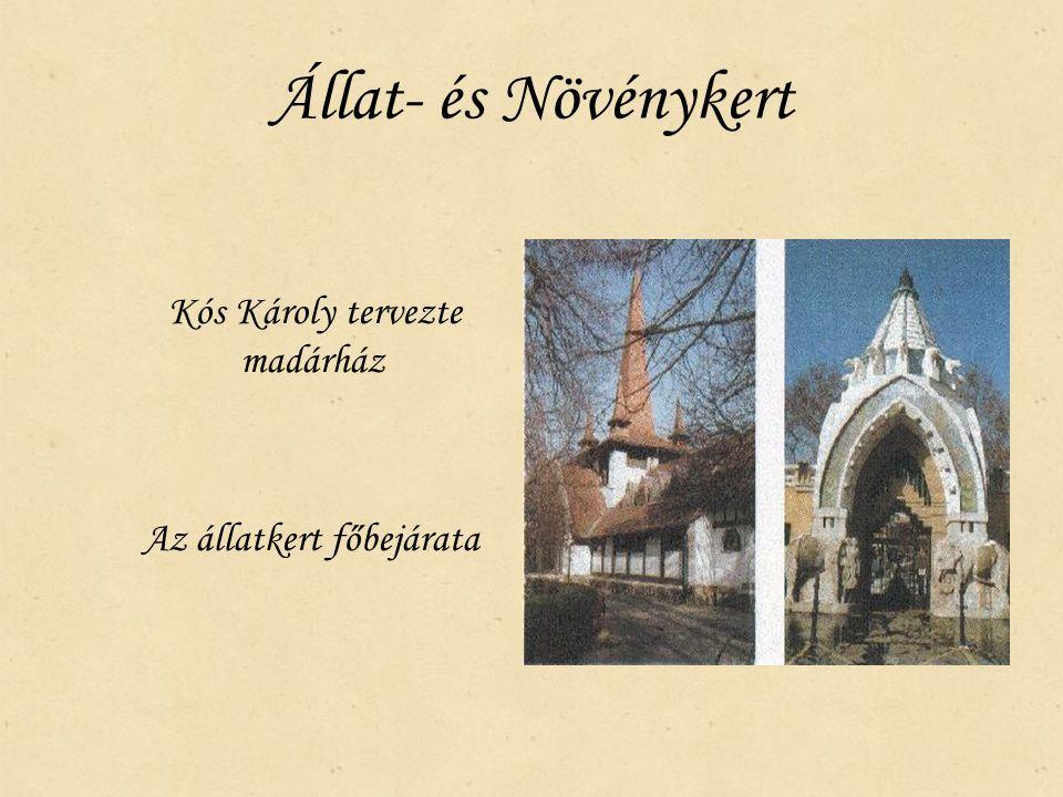 Állat- és Növénykert Kós Károly tervezte madárház