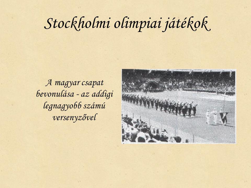 Stockholmi olimpiai játékok