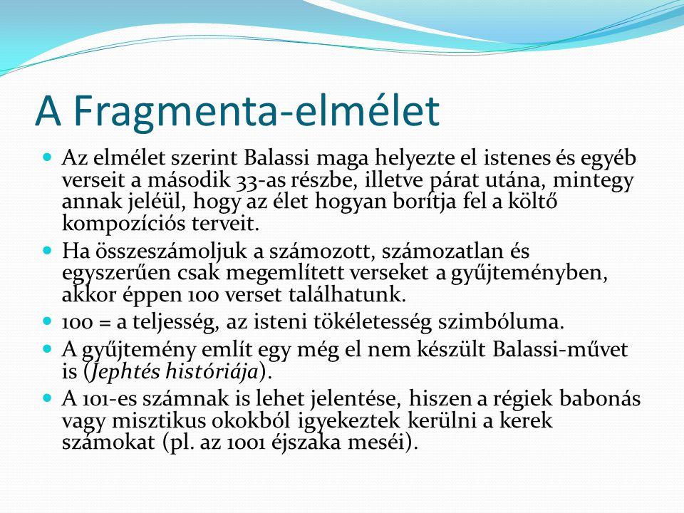 A Fragmenta-elmélet