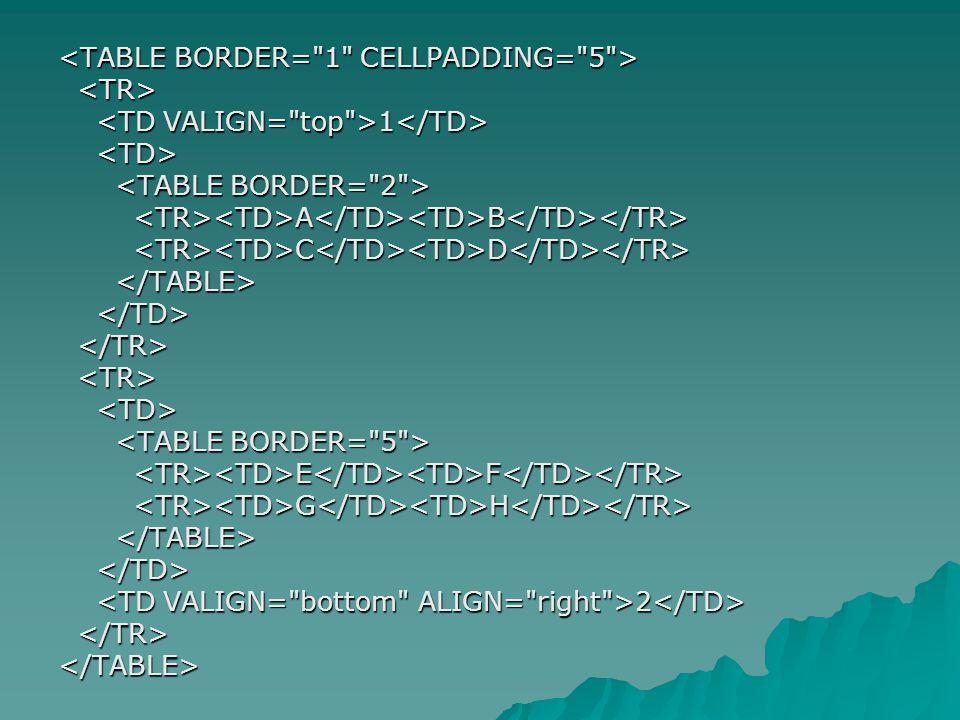 <TABLE BORDER= 1 CELLPADDING= 5 >