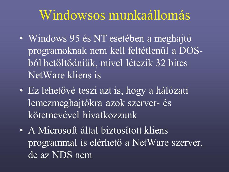 Windowsos munkaállomás