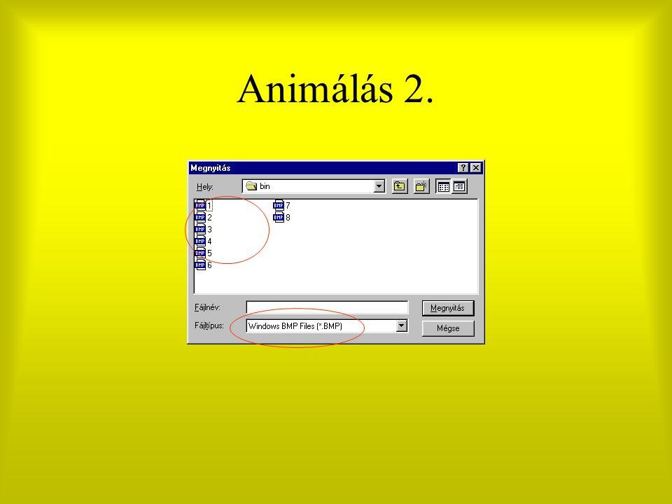 Animálás 2.