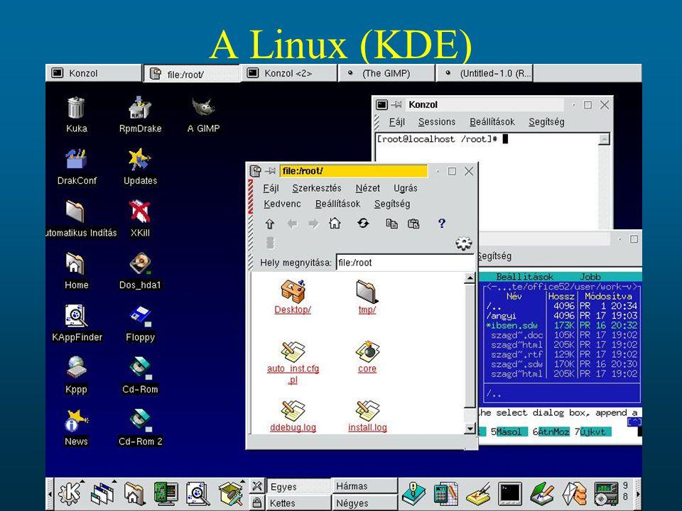 A Linux (KDE)