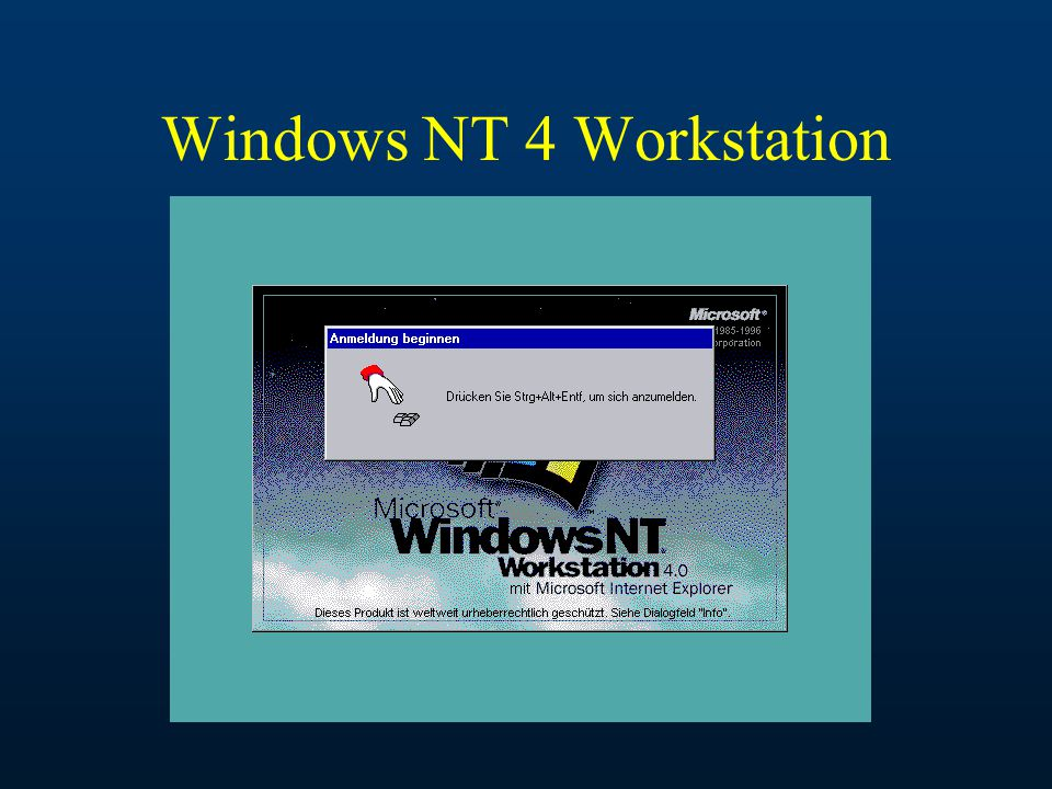 Windows NT 4 Workstation