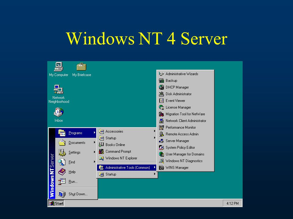 Windows NT 4 Server