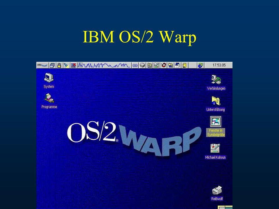 IBM OS/2 Warp