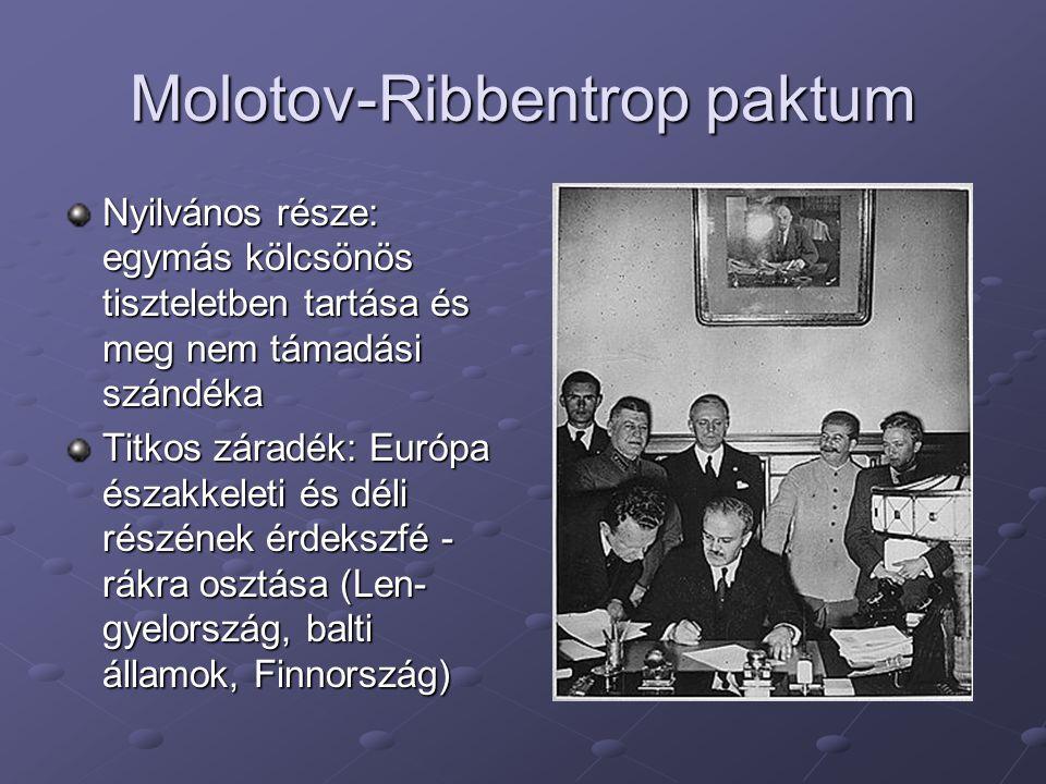 Molotov-Ribbentrop paktum