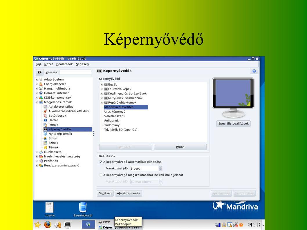 Képernyővédő