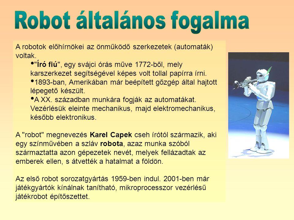 Robot általános fogalma
