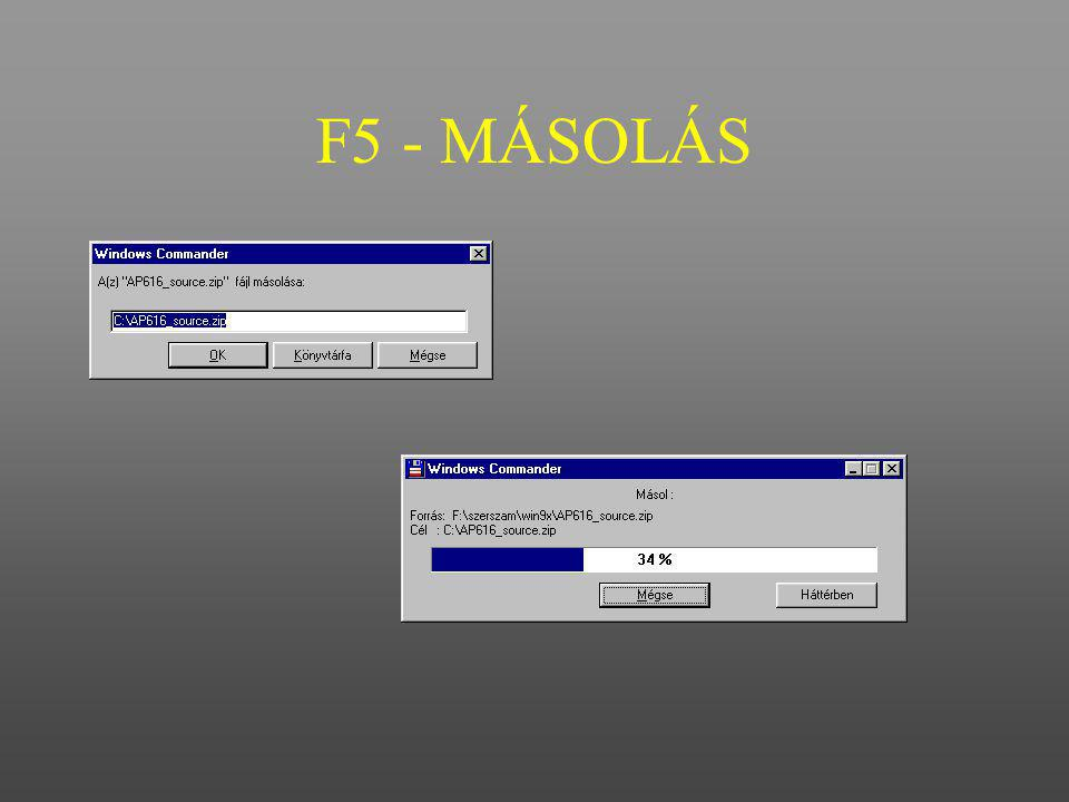 F5 - MÁSOLÁS