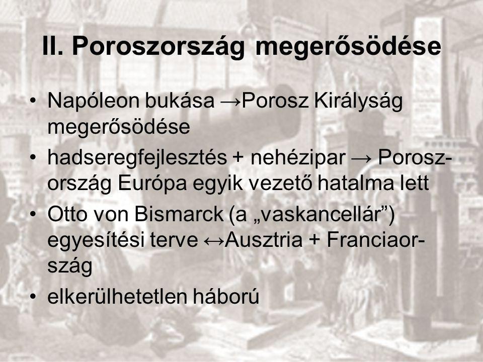 II. Poroszország megerősödése