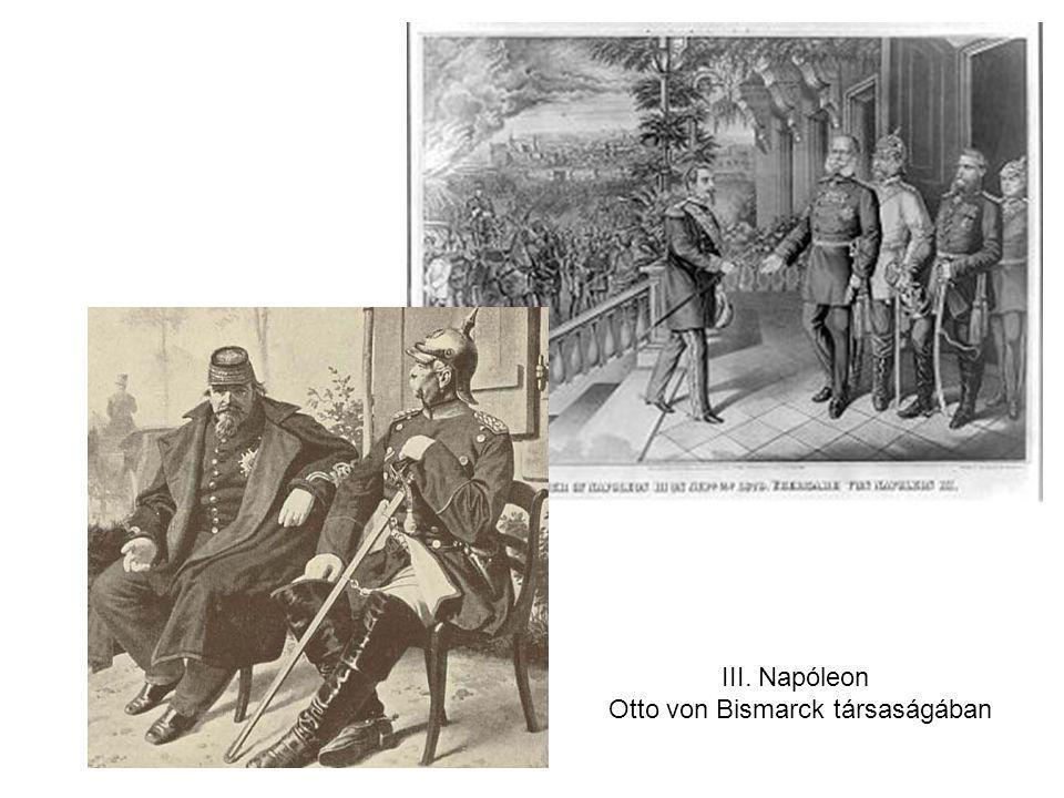 Otto von Bismarck társaságában