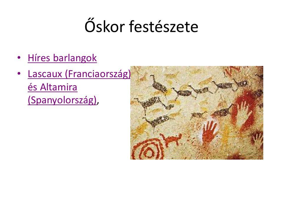 Őskor festészete Híres barlangok