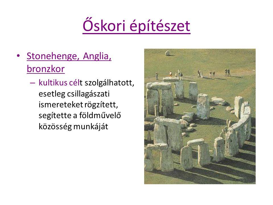 Őskori építészet Stonehenge, Anglia, bronzkor
