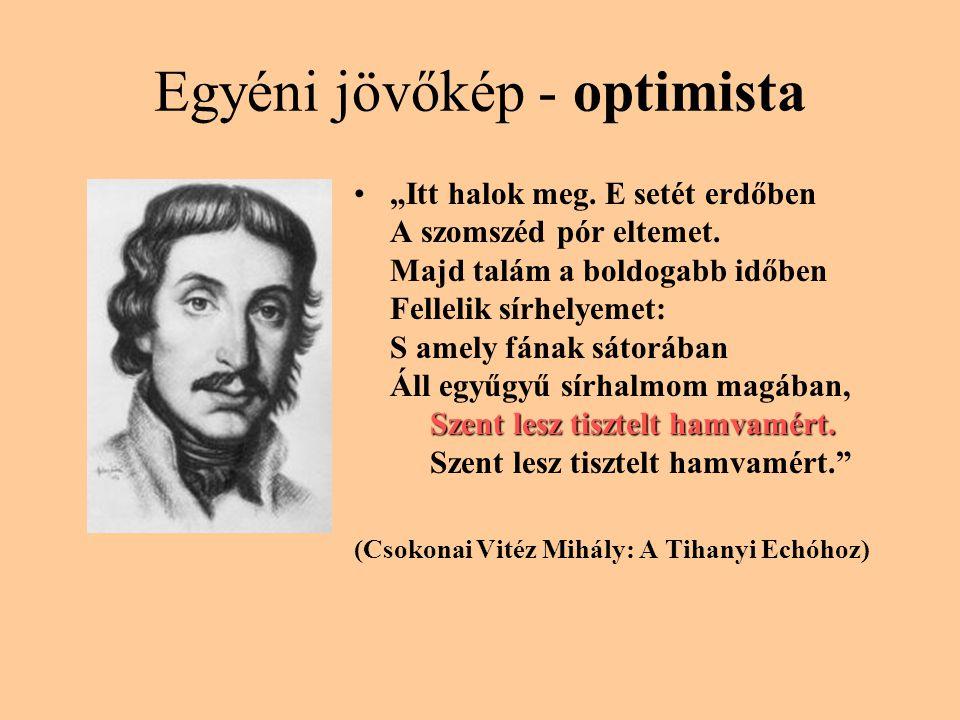Egyéni jövőkép - optimista