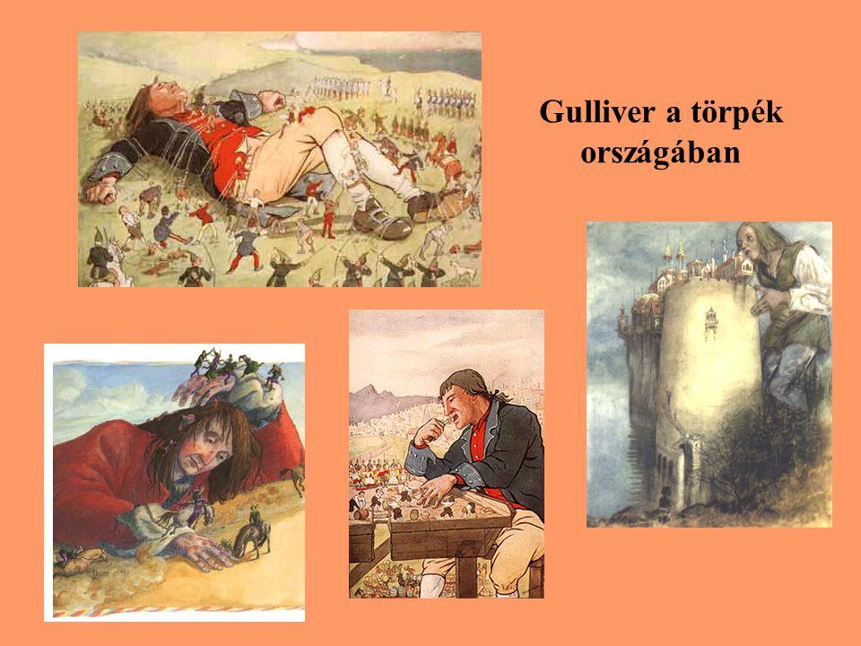Gulliver a törpék országában