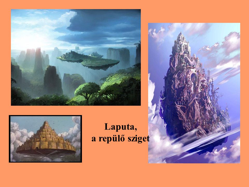 Laputa, a repülő sziget