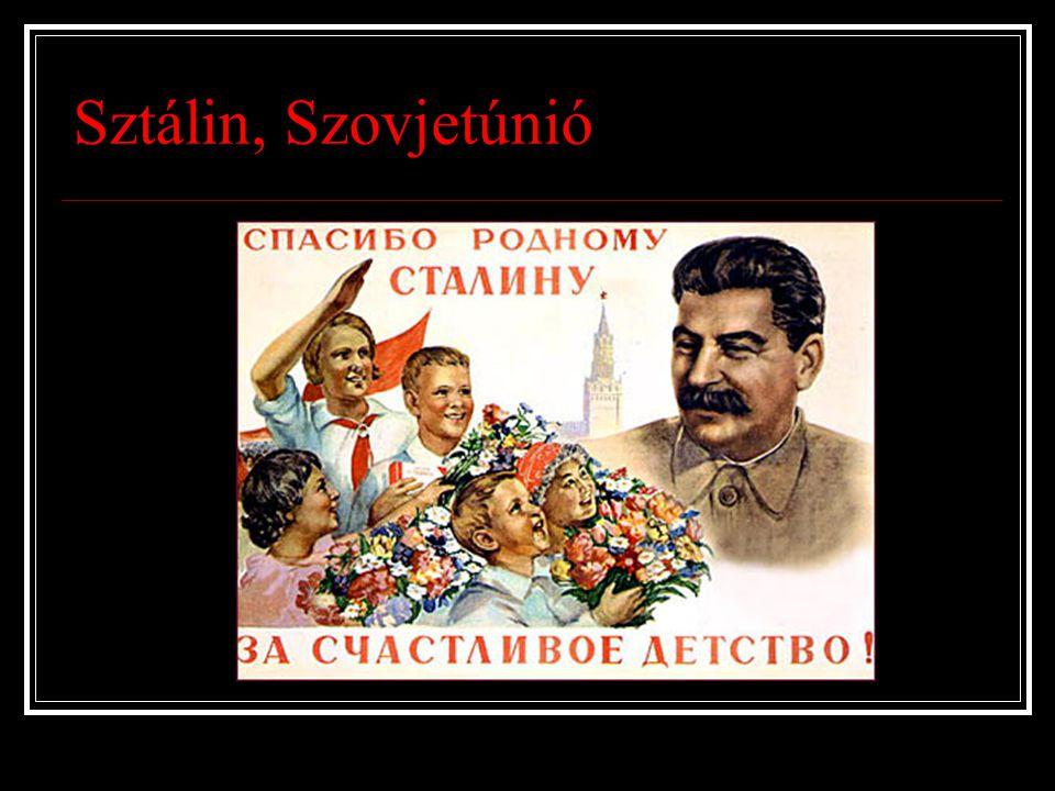 Sztálin, Szovjetúnió