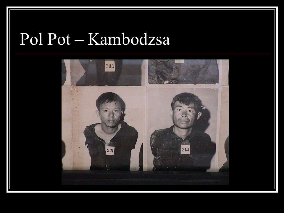 Pol Pot – Kambodzsa