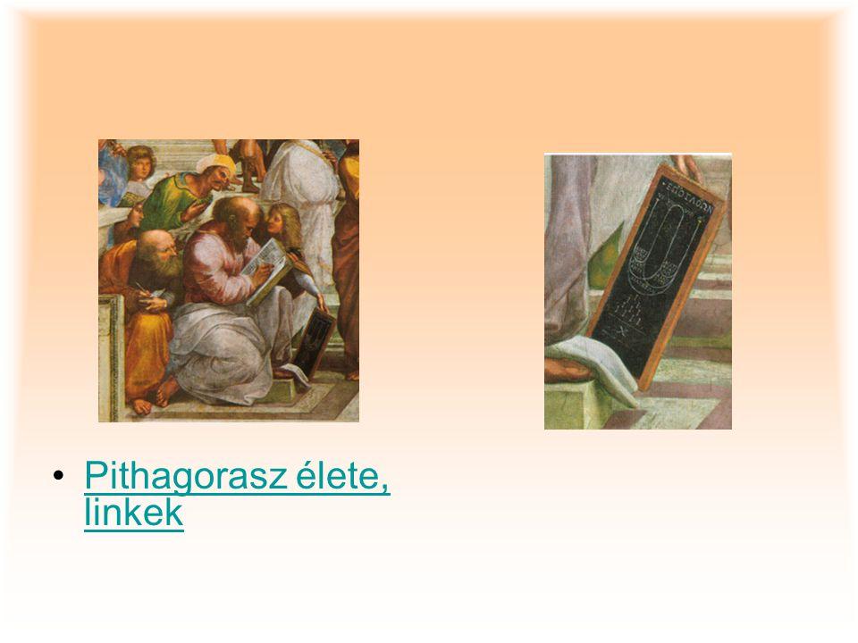 Pithagorasz élete, linkek