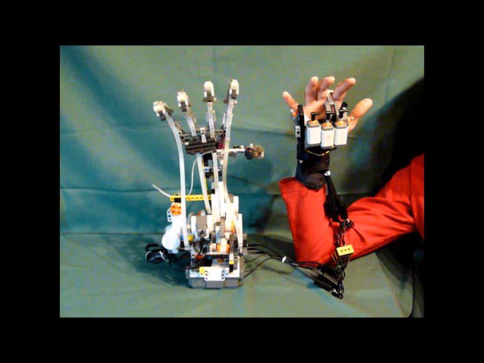 Robotkéz - videó