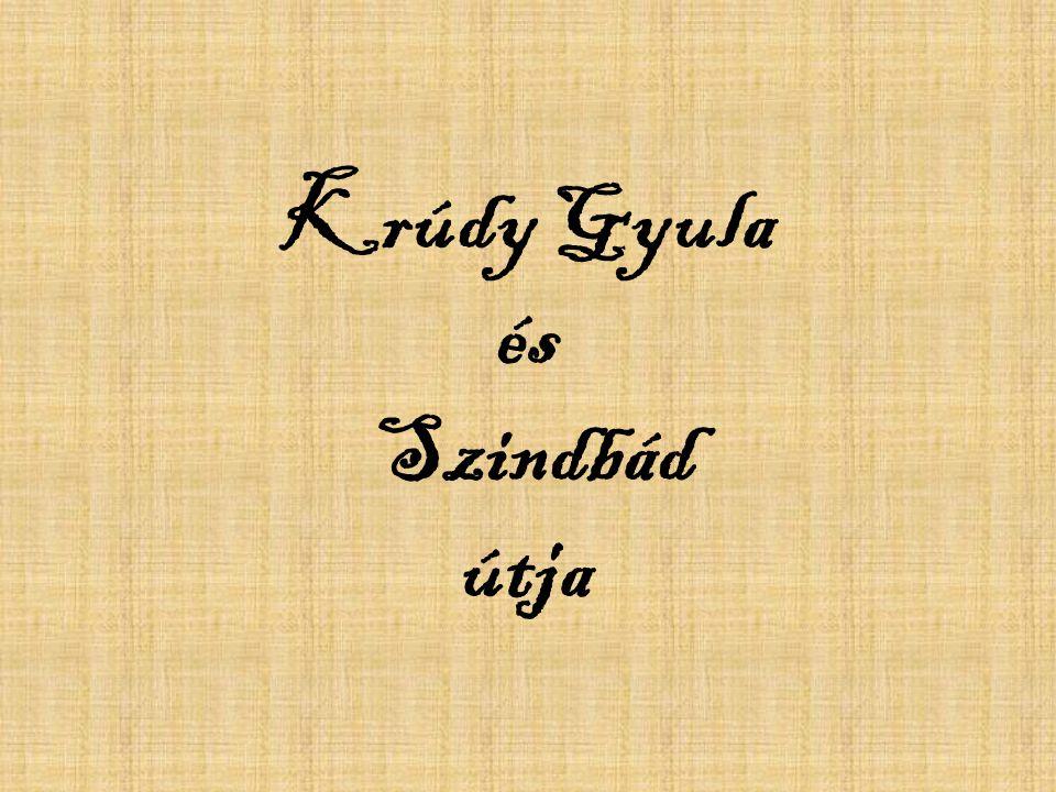 Krúdy Gyula és Szindbád útja