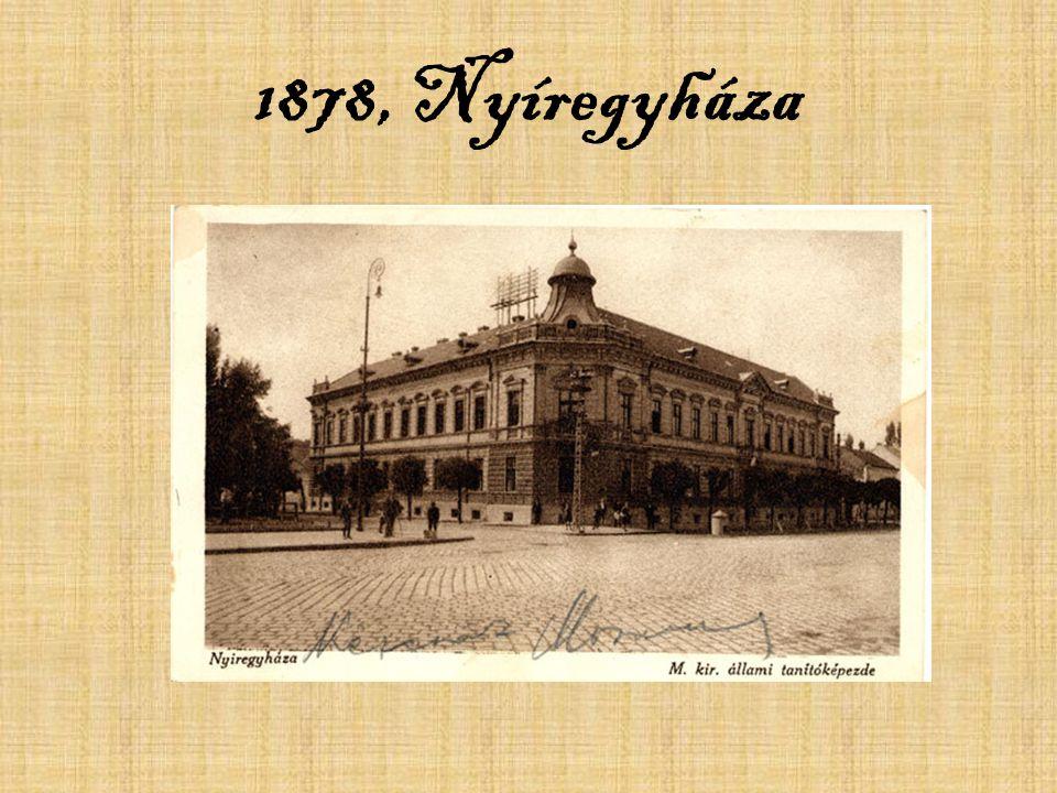 1878, Nyíregyháza