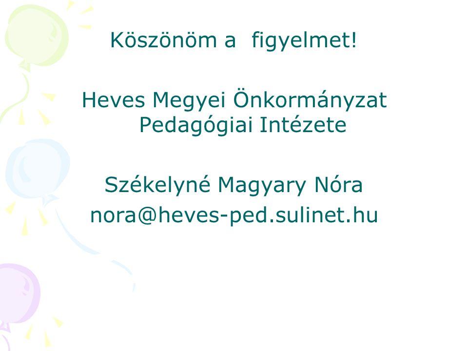 Heves Megyei Önkormányzat Pedagógiai Intézete