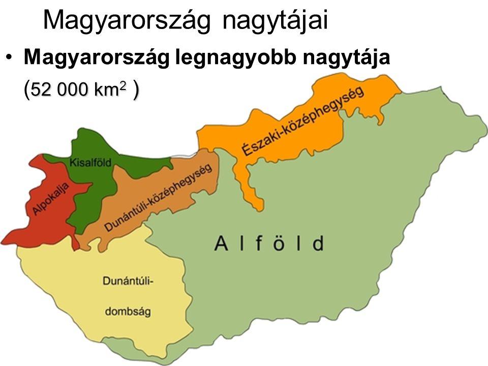 Magyarország nagytájai