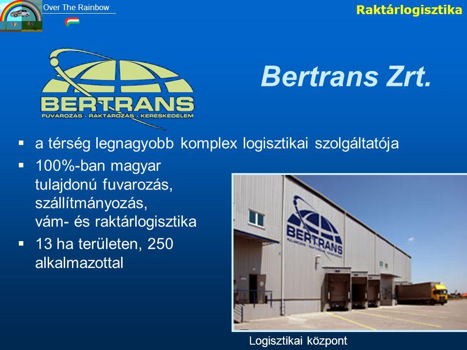 Bertrans Zrt. a térség legnagyobb komplex logisztikai szolgáltatója