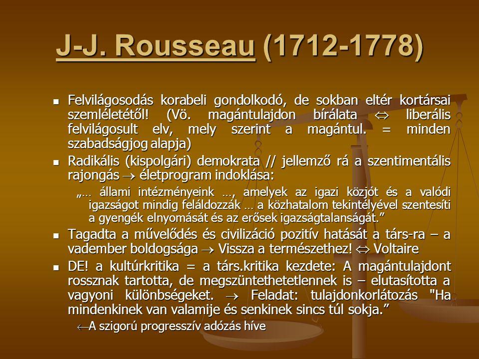 J-J. Rousseau (1712-1778)