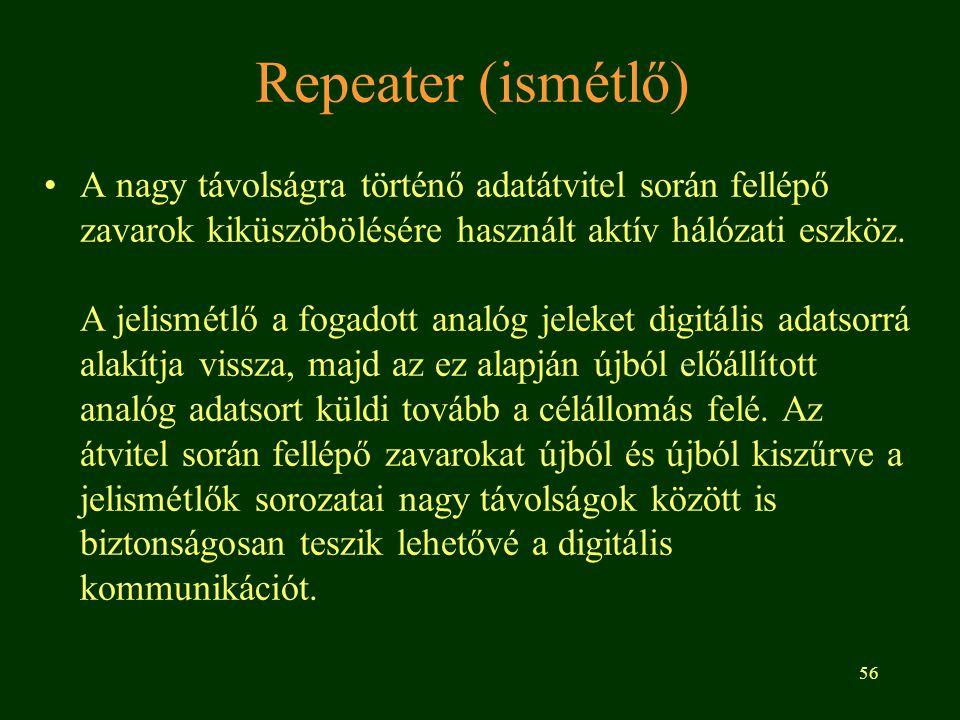 Repeater (ismétlő)