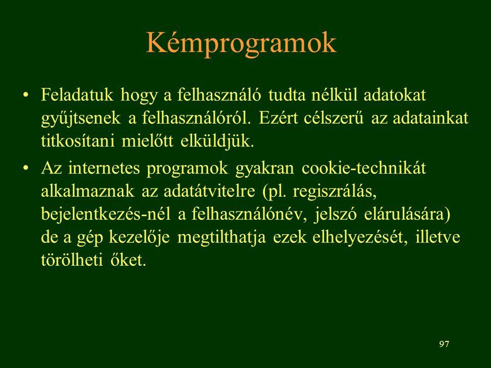 Kémprogramok