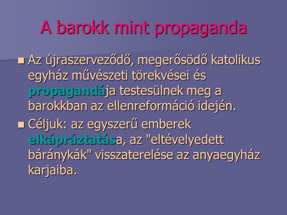 A barokk mint propaganda