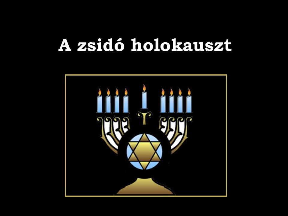 A zsidó holokauszt