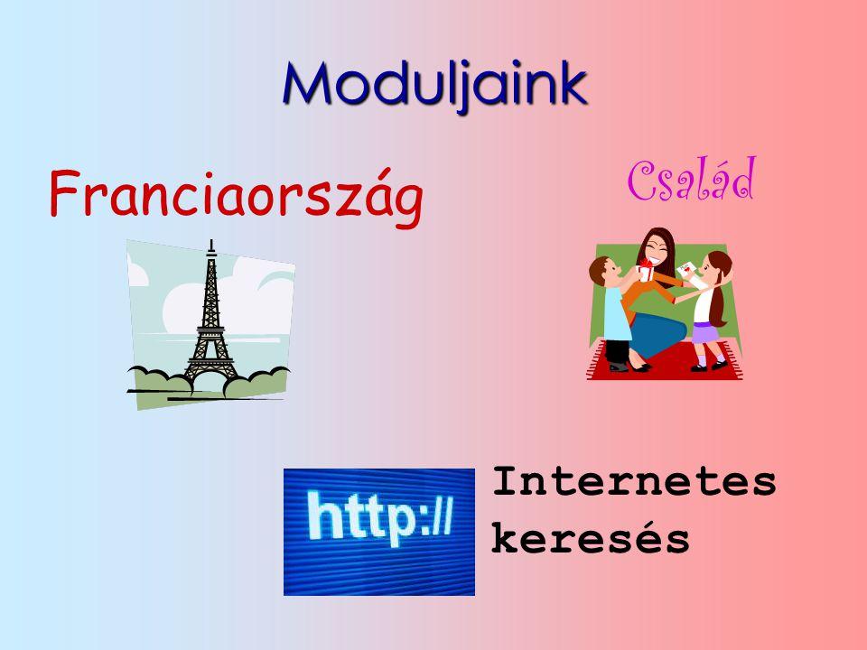 Moduljaink Család Franciaország Internetes keresés