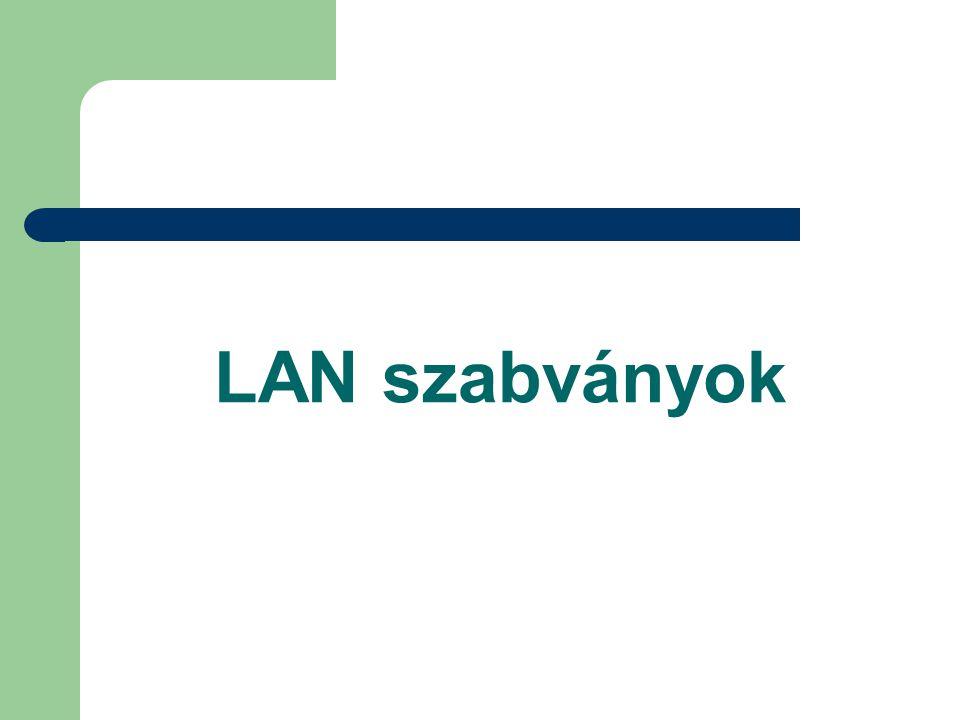 LAN szabványok