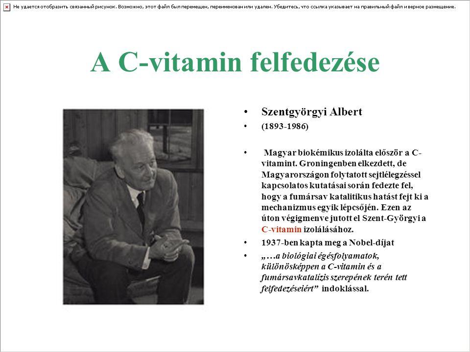 A C-vitamin felfedezése