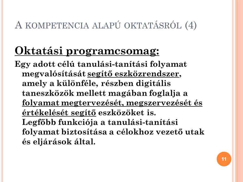 A kompetencia alapú oktatásról (4)