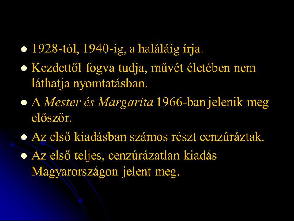 1928-tól, 1940-ig, a haláláig írja.