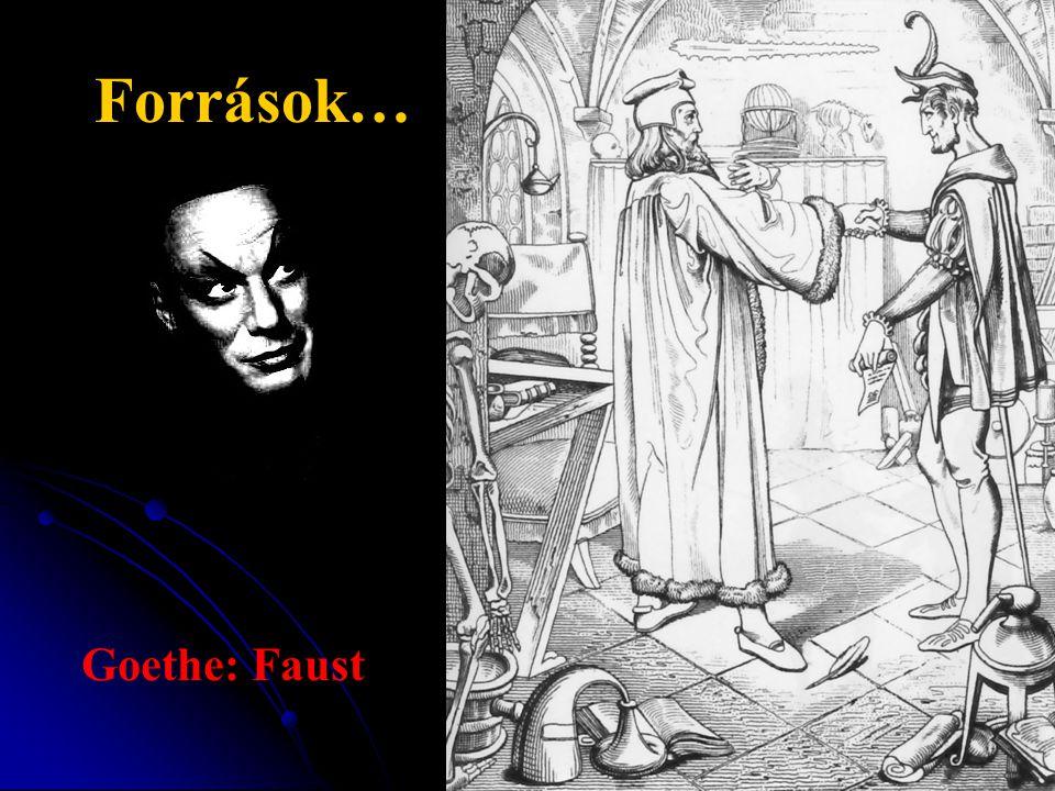 Források… Goethe: Faust
