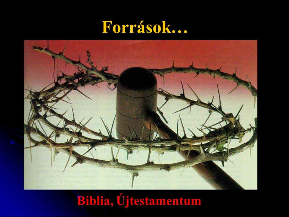 Források… Biblia, Újtestamentum