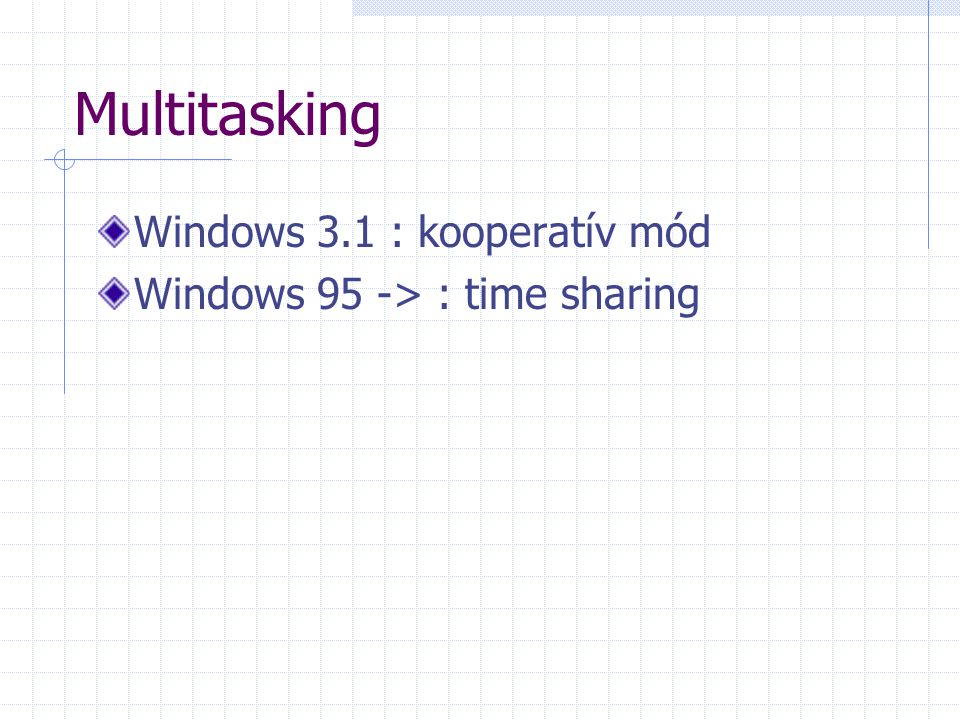 Multitasking Windows 3.1 : kooperatív mód