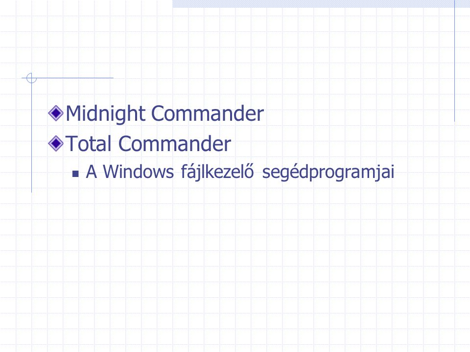 Midnight Commander Total Commander
