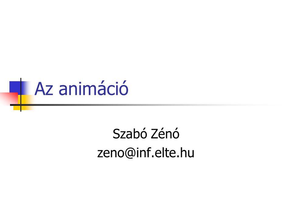 Szabó Zénó zeno@inf.elte.hu