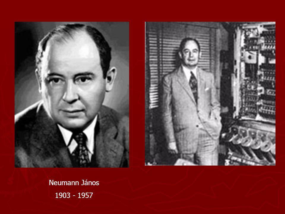 Neumann János 1903 - 1957