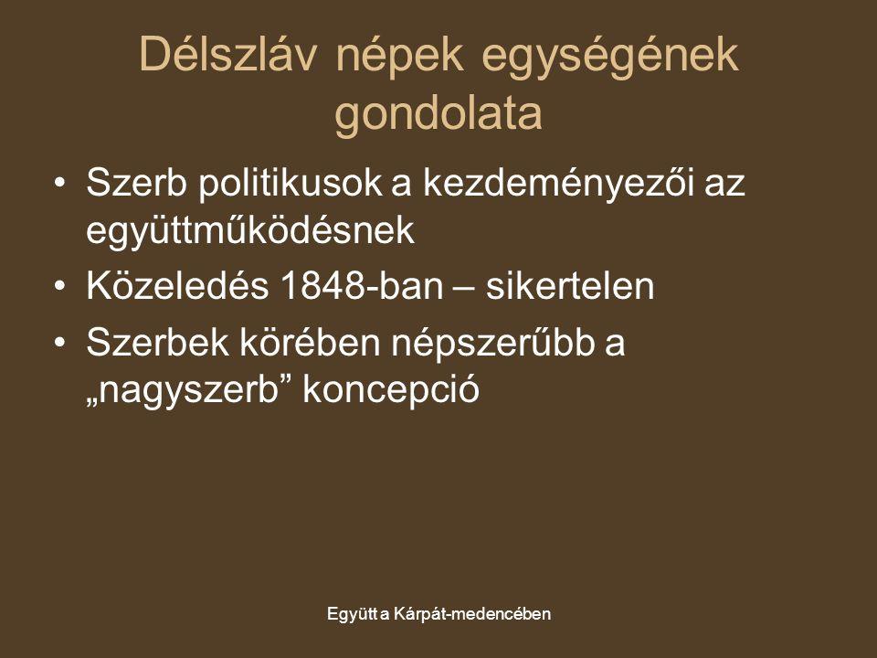 Délszláv népek egységének gondolata