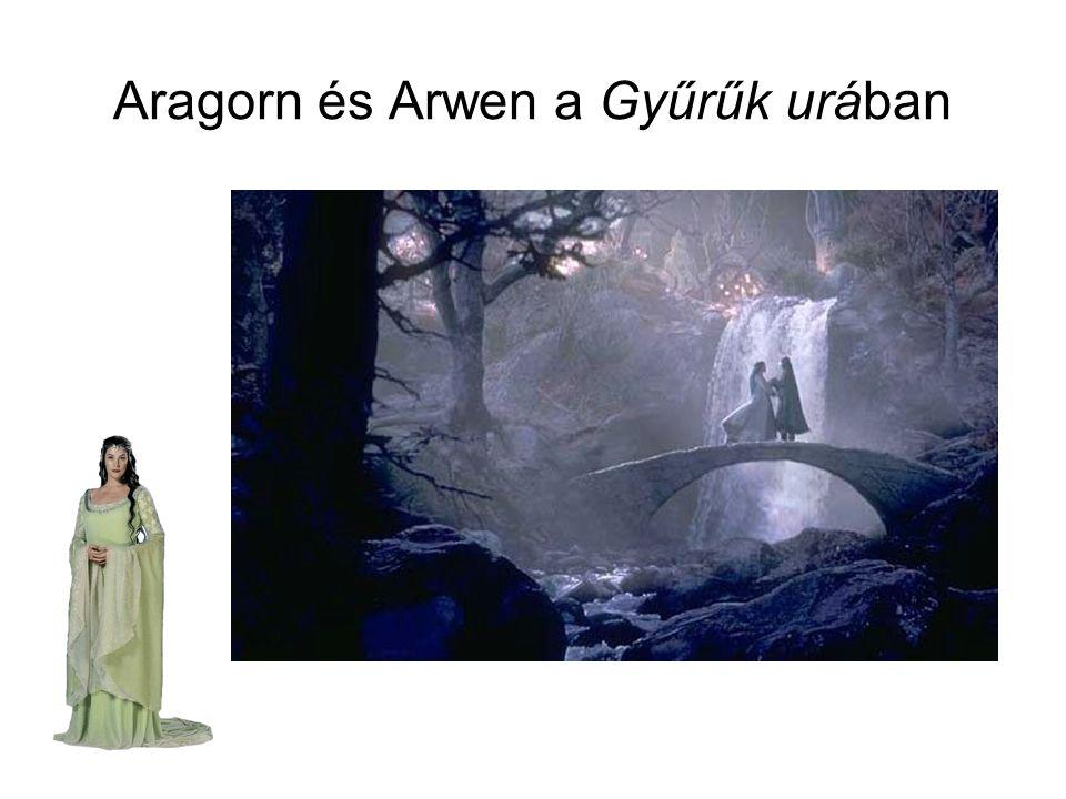Aragorn és Arwen a Gyűrűk urában