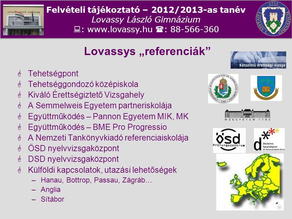 "Lovassys ""referenciák"