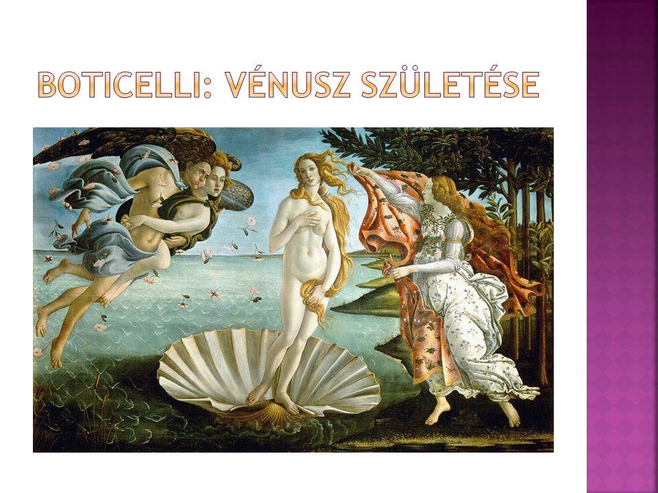 Boticelli: Vénusz születése